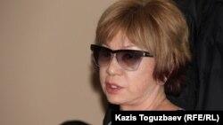 Гүлжан Ерғалиева, Adam bol журналының бас редакторы. Алматы, 24 желтоқсан 2014 жыл