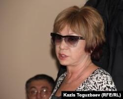 Гульжан Ергалиева, главный редактор журнала ADAM bol. Алматы, 24 декабря 2014 года.