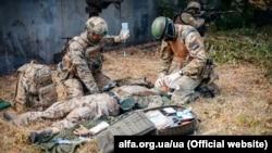 Ілюстративне фото. Вишкіл із надання першої медичної допомоги в умовах бойових дій