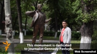 "Radio Azattyk's Janarbek Akayev, from RFE/RL video ""What Press Freedom Means To Me"""