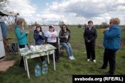 Пачатак галадоўкі 27 красавіка на лецішчы ў Пухавіцкім раёне
