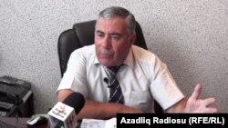 Председатель партии «Муасир Мусават» Хафиз Гаджиев