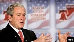 آقای بوش خواستار بودجه ویژه ای برای مصارف نظامی اورژانس شده است.