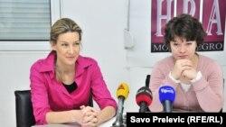 Sa konferencije za novinare Akcije za ljudska prava, 20. april 2012.