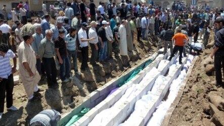 Masovna sahrana žrtava iz Hule