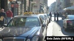 Zagreb taksi, listopad 2010