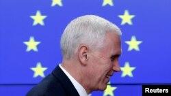 Nadam se da ćemo istražiti načine kako produbiti odnose između Sjedinjenih Država i EU: Pence