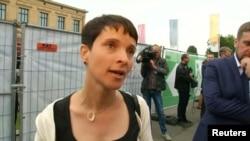 Фрауке Петрі, відеокадр 4 вересня 2016 року