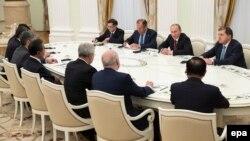 Putini në samitin e BRICS