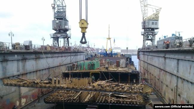 """Судоремонтный завод """"Южный Севастополь"""""""