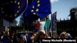 «Բրեքզիթի» դեմ ցույցեր խորհրդարանի մոտ, Լոնդոն, 4 սեպտեմբերի, 2019թ.