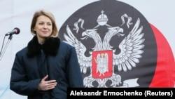 Наталья Поклонская в так называемой «ДНР».