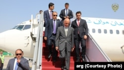 Afghan President Ashraf Ghani arrived in Islamabad on June 27.