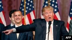 Дональд Трамп, претендент в кандидаты на пост президента США от Республиканской партии. Флорида, 15 марта 2016 года.