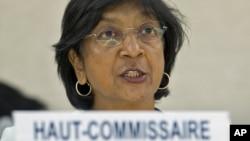 Глава ведомства ООН по правам человека Нави Пиллэй