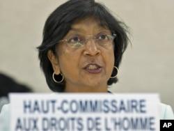 Верховний комісар ООН із прав людини Наві Піллей
