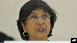 Глава ведомства ООН по правам человека Нави Пиллэей
