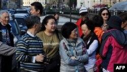 Китайские туристы. Иллюстративное фото.