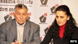 Tofiq Hüseynov və Dilbər Qasımova