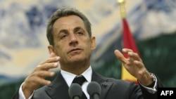 Франция Президенти Николя Саркози.
