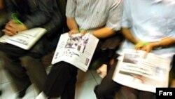 انجمن صنفی روزنامه نگاران تشکلی است که بیش از چهار هزار عضو در سراسر ایران دارد.(عکس: فارس)