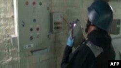 Քիմիական զենքի արգելման կազմակերպության փորձագետը աշխատում է Սիրիայում, 8-ը հոկտեմբերի, 2013թ․