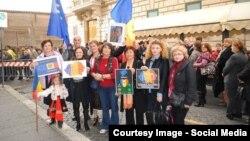 Moldoveni din Italia la vot în 2014