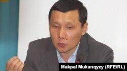 Абзал Құспан, заңгер, Жарылқап Қалыбайдың адвокаты. Алматы, 10 қыркүйек 2013 жыл