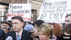 Былы ахоўнік Л.Кучмы М. Мельнічэнка