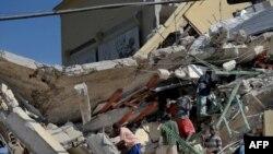 Haiti pas tërmetit shkatërrues në vitin 2010.