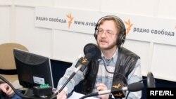 Владимир Бабурин в студии Радио Свобода