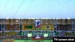 Turkmenistan -- Independence day celebration in Ashgabat, 26 October 2010
