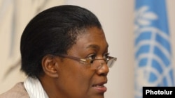 Margaret Sekaggya, the special UN rapporteur on human rights defenders