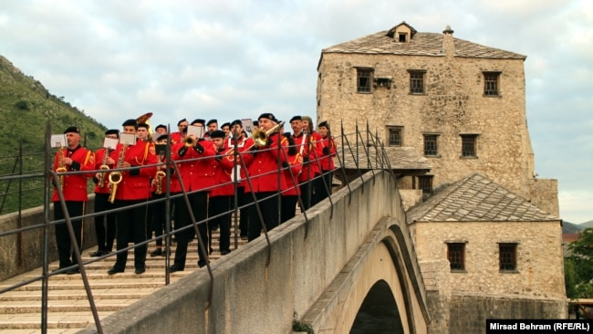 """Satri most u Mostaru, gradu koji je trebalo da bude prijestolnica """"Herceg Bosne"""""""