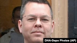 American pastor Andrew Brunson (file photo)