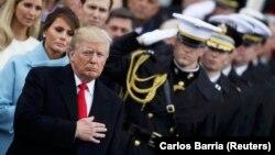 Інавгурація президента США Дональда Трампа, 2017 рік