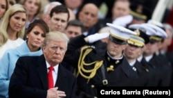 Инаугурация президента США Дональда Трампа, архивное фото