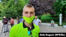 """Želja mi je bila da odem"", kaže Elmedin Zulić."