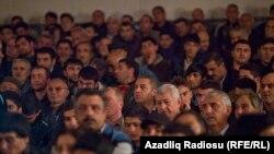 Seçicilərlə görüş, Sumqayıt, 6 oktyabr 2013