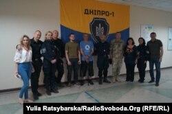 Ольга Вестфолл, семінар для бійців та волонтерів полку «Дніпро-1», Дніпро, 16 травня 2019 року