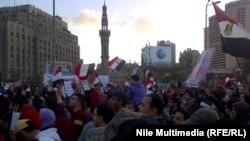 Аскерий кеңештин бийликтен кетишин талап кылган демонстрация Каирде 27-январда да болгон.