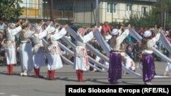 Почеток на школската година во Основното училиште Братство и единство во Охрид.