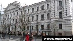 Былы будынак КДБ у Вільні