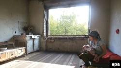 Нохчийчоь -- Нохчийн нана шен шина бераца, бомбанаша йохийначу петарна чохь, Соьлж-гIала, 21Гез2007