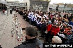"""Акция памяти жертв """"Норд-Оста"""", 2013 год"""