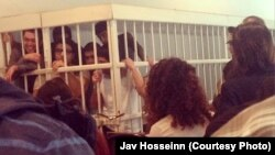 Во время суда активистов Гражданского движения NIDA.