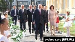 Аляксандр Лукашэнка на адкрыцьці сярэдняй школы №93, 2 верасьня 2019