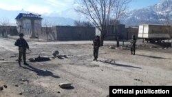 Кыргызско-таджикская граница. 15 марта.