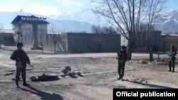 На таджикско-кыргызской границе
