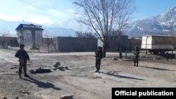На кыргызско-таджикской границе, 15 марта 2019 года.